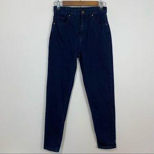 Afends High Rise Dark Wash Jeans SZ US 4